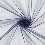 Fabulous Fabrics Glitzer Tüll – Navy — Meterware ab