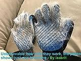2PCS Pet Bürste Handschuh