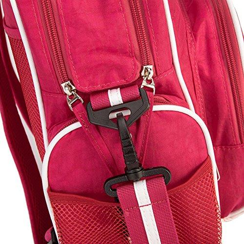 Samber Windel Tasche Mama Schulter Beutel Nette Baby Windel Tasche mit Justierbarem Bügel Rot
