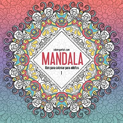 Mandala Libro Para Colorear Para Adultos 1 Volume 1 (Mandala Para