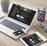 Blaupunkt Smart Home Alarm Q3000 Starter Kit; Smart Home Alarmanlage bzw. Funk-IP Sicherheitssystem für Haus, Wohnung, Geschäft, Ferienhaus; Bedienung per App oder Internetportal; drahtlos/funkbasierend; Kit bestehend aus: IP-Alarmzentrale, Funk-Bewegungsmelder (IR-S1L), Funk-Tür/Fenstersensor (DC-S1) - 6