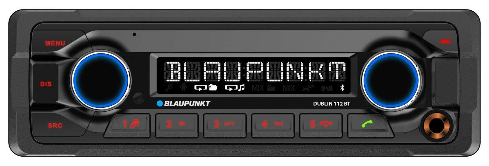 BLAUPUNKT-Dublin-112-BT-MP3-Autoradio-mit-BluetoothUSBAUX-IN