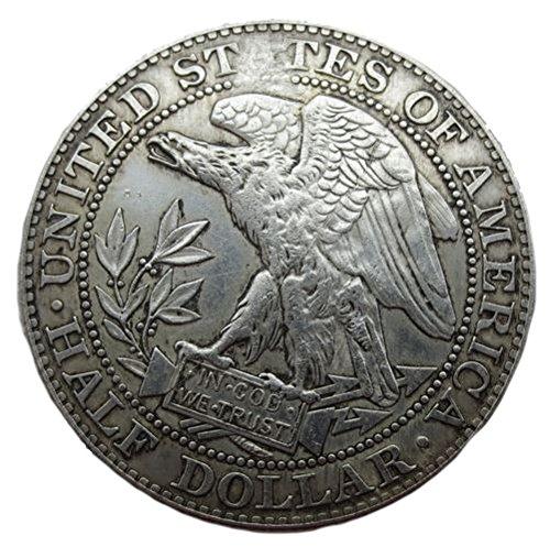 1877 USA Morgan Half-Dollar-Münze USA Geld Dollar-Münze Replik (Morgan-dollar 1878)