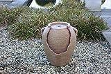 BRUNNEN Wasserspiel ,,Mykonos' Krug Polyresin H46 124161f