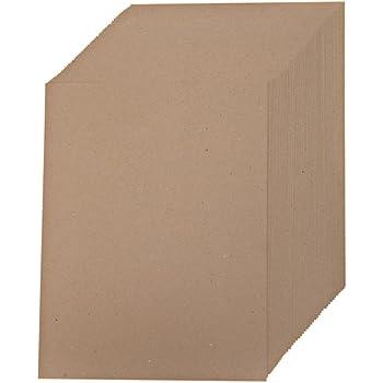 Creative World of Crafts - Fogli di carta Kraft (confezione da 50)