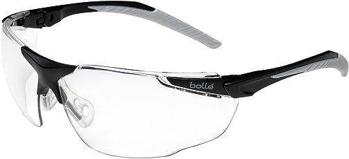Bollé Schutzbrille -Universal-, transparent, anti-kratz und anti-beschlag, mit b-Flex-Nasensteg
