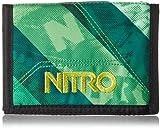 Nitro Wallet, Geldbörse, Geldbeutel, Portemonnaie, Münzbörse,  Wicked Green,  10 x 14 x 1 cm, 1131-878000_1927, 60g
