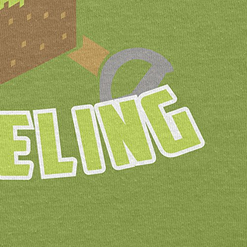 Texlab–Everyday SHOV eling–sacchetto di stoffa Verde chiaro