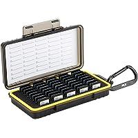 Kiwifotos Wasserdicht Speicherkarten Etui Aufbewahrung für 40 SD SDXC SDHC, SD Karten Tasche Hülle Schutzbox Tragetasche…