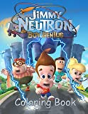 Jimmy Neutron Coloring Book: Coloring Book for Kids and Adults, Activity Book, Great Starter Book for Children (Coloring