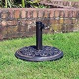 Kingfisher 6/9/10/15 KG Garden Parasol Bases Outdoor Patio Furniture