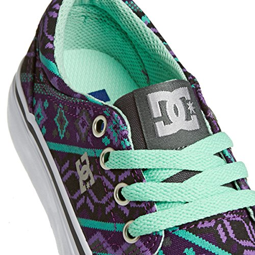 Kinder Sneaker DC Trase Tx Se Sneakers Girls Grey/Purple