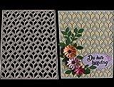 FNKDOR Fustelle per Scrapbooking Metallo Fustella Stencil Carta Cutting Dies DIY Album Foto, Accessori per Big Shot e altre macchina (E)