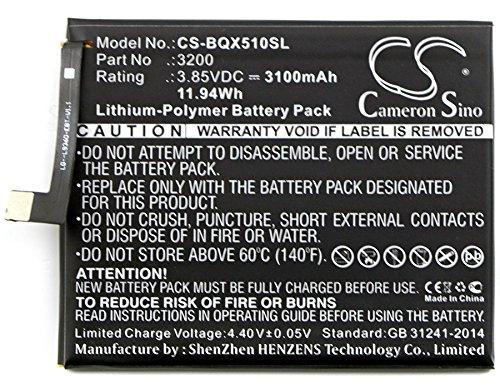CameronSion - Batería BQ Aquaris X5 Plus 3200 3100