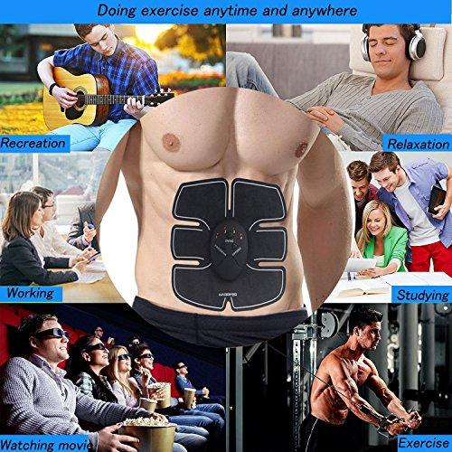 Zoom IMG-1 elettrostimolatore muscolare novatech muscolo addominale