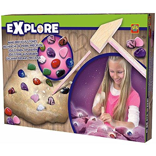 Explore - Set para excavar piedras preciosas, multicolor (SES 25025)