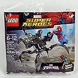 spider-man vs the venom symbiote lego 30448