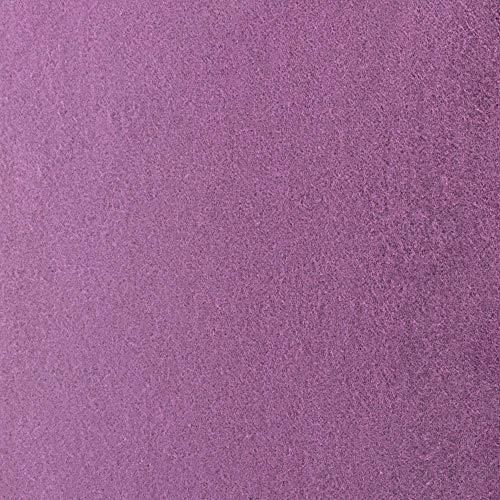 #14 Etérea Teddy Flausch Kinder-Spannbettlaken, Spannbetttuch, Bettlaken, 18 Farben, 60×120 cm – 70×140 cm, Pflaume - 3