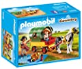 Playmobil - 6948 - Enfants avec Chariot et Poneys