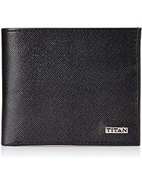 Titan Formal Black Men's Wallet (TW178LM1BK)
