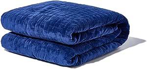 GRAVITY Blanket: Weighted Blanket, la Coperta ponderata per Il Sonno, Blu Navy, 121cm x 182cm, 9kg
