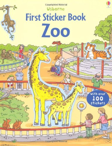 The Zoo (Usborne First Sticker Books)