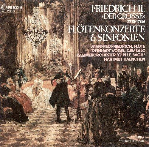 Frederick Ii: Sinfonias / Flut...