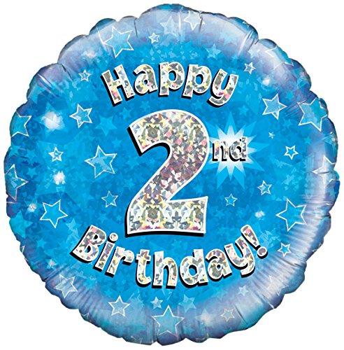 "Oaktree 18/"" feuille ballon joyeux anniversaire mari holographique"