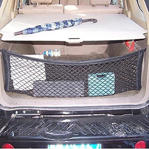 Juntu - altamente elastico Tronco netto verticalmente in stile dotazione per BMW X5 X6 MY 2010-2013