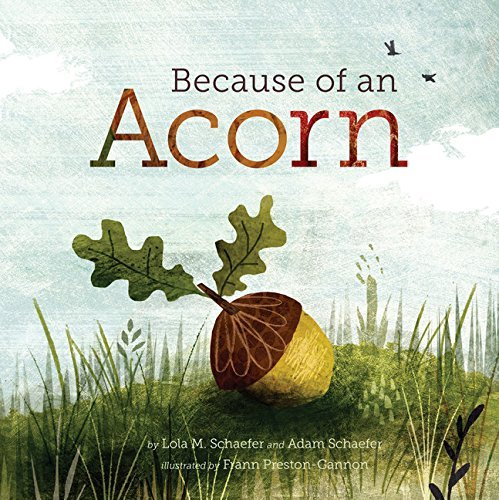 Because of an Acorn by Lola M. Schaefer (2016-08-02)