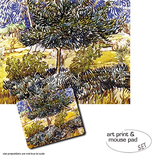 set-regalo-1-poster-impresion-artistica-50x40-cm-1-alfombrilla-para-raton-23x19-cm-vincent-van-gogh-