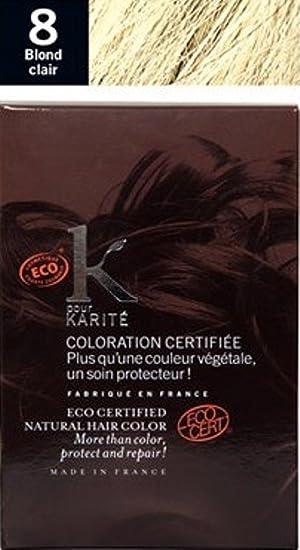 k pour karite blond clair n8 bio - Coloration K Pour Karit