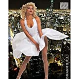 Kleid 50er Jahre Kostüm Damen L 42/44 Swing Damenkleid Rockabilly Star Celebrity Ikon Berühmtheiten Glamour 60er Jahre Diva Cocktailkleid Hollywood Mottoparty Verkleidung Karneval Kostüme Damen