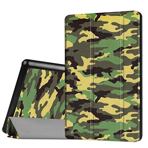 WiTa-Store Tasche für Amazon Kindle Fire HD8 (6. Generation 2016) 8.0 Zoll Schutz Hülle Flip Tablet Cover Case HD 8 Neu