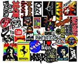 #10: Elton 3M Vinyl Sticker Pack [40-Pcs], Lovely 3M Vinyl Musicals & Assorted Stickers for Laptop, Cars, Motorcycle, PS4. X Box One . Guitar Bicycle, Skateboard, Luggage - Waterproof Random Sticker Pack