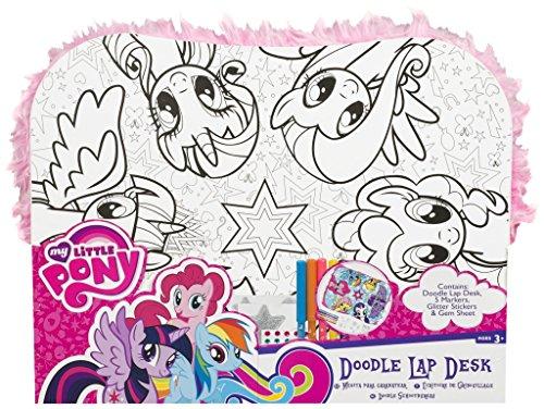 Sambro mlp-4393My Little Pony Doodle Schoß Schreibtisch, Multi