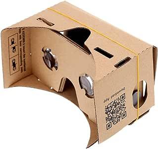 """Andoer DIY Google Carton réalité virtuelle VR Mobile lunettes 3D avec NFC Tag pour 4.5 """"écran"""