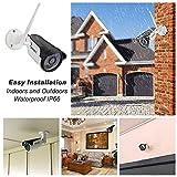 SV3C 1080p Wlan IP Kamera/HD Sicherheitskamera für Außen/IP überwachungskamera/IP cam mit LAN & Wlan/Wifi für Outdoor, Bewegungserkennung, 15m Nachtsichtfunktion, Slot für TF Karten mit max. 64GB und kompatibel mit Smartphones, Tablets und Windows PC - 5