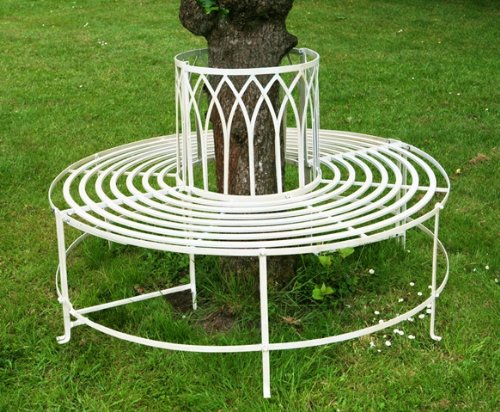 alium-trentino-steel-circular-garden-tree-seat-in-cream-full-circular