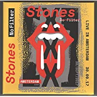 THE ROLLING STONES LIVE IN AMSTERDAM 2017 No Filter Tour limited edition 2CD set in cardbox