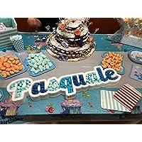 Contenitore porta confetti caramelle personalizzato in polistirolo party feste confettata decorazioni