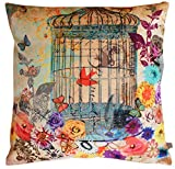 Air Castle- Home Decore- Polyester & Polyester Blend- Vintage Cage Cushion Cover best price on Amazon @ Rs. 899