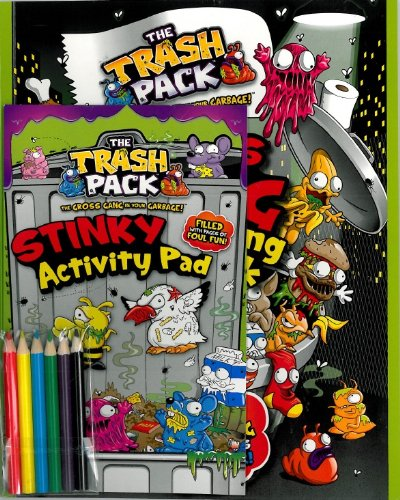 Trash Pack Jumbo Activity Pack (Parragon)