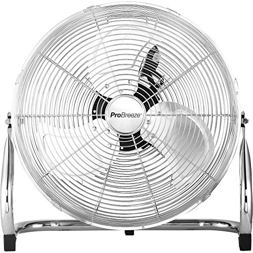 Pro Breeze Ventilateur de Sol 20' Chrome - style...
