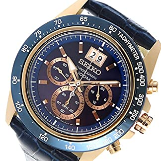 Seiko Analog Blue Dial Men's Watch-SPC238P1