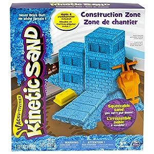 Kinetic Sand Construction Zone - Arena cinética (Azul, Niño)