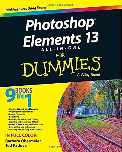 Photoshop Elements 13 All-in-One For Dummies (For Dummies Series) 1st edition by Obermeier, Barbara, Padova, Ted (2014) Paperback