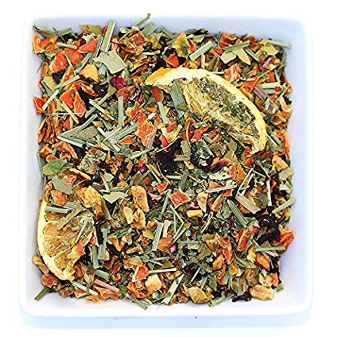 Tealyra - Orange Lemonade Herbal - Antioxidants Fruit Tea - Vitamins Rich - Boost Immune System - 100% Natural Herbal Tea - Loose Leaf Tea - Blend - Caffeine Free - 110g
