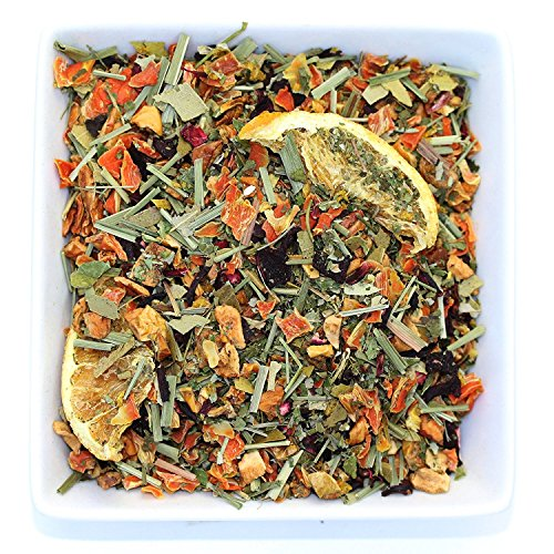 Tealyra - Orange Lemonade Herbal - Antioxidants Fruit Tea - Vitamins Rich - Boost Immune System - 100% Natural Herbal Tea - Loose Leaf Tea - Blend - Caffeine Free - 220g