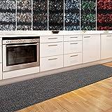 casa pura Küchenläufer Granada in großer Auswahl | strapazierfähiger Teppich Läufer für Küche Flur UVM. | Rutschfester Teppichläufer/Flurläufer für alle Böden (80x150 cm Beige)